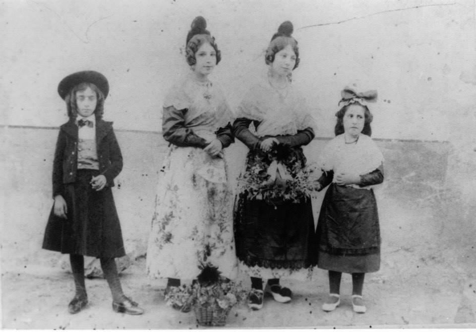 Foto de l'arxiu. 1901. festa Patronal